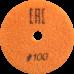 """АГШК - алмазные гибкие шлифовальные круги """"сухие"""" d100 P100"""