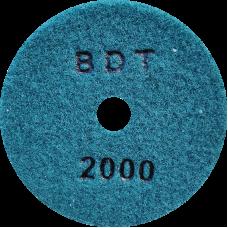 """АГШК - алмазные гибкие шлифовальные круги """"BDT"""" d100 P2000"""