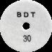 """АГШК - алмазные гибкие шлифовальные круги """"BDT"""" d100 P30"""