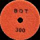 """АГШК - алмазные гибкие шлифовальные круги """"BDT"""" d100 P300"""