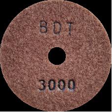 """АГШК - алмазные гибкие шлифовальные круги """"BDT"""" d100 P3000"""