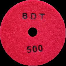 """АГШК - алмазные гибкие шлифовальные круги """"BDT"""" d100 P500"""
