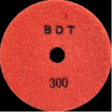 """АГШК - алмазные гибкие шлифовальные круги """"BDT"""" d125 P300"""
