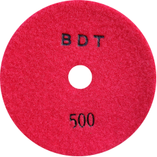 """АГШК - алмазные гибкие шлифовальные круги """"BDT"""" d125 P500"""