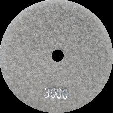 """АГШК - алмазные гибкие шлифовальные круги """"универсальные"""" d100 P3000"""