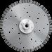 Отрезной диск по бетону, граниту Турбо-Лазер d180