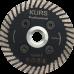 Алмазный диск турбо black d75