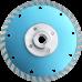 Алмазный диск турбо black по граниту d125