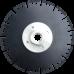 Диск по мрамору d125 black