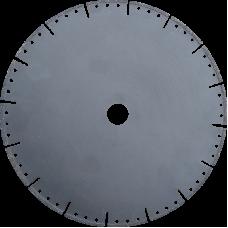 Диск по мрамору d230 black