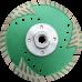 Алмазный отрезной диск  с защитным зубом d115