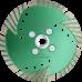 Алмазный отрезной диск  с защитным зубом d125
