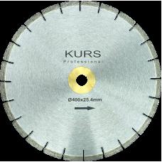 Алмазный отрезной диск по бетону Silver Brazed d400