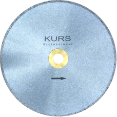 Алмазный отрезной диск сплоной d350