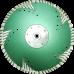 Алмазный отрезной диск  с защитным зубом d230
